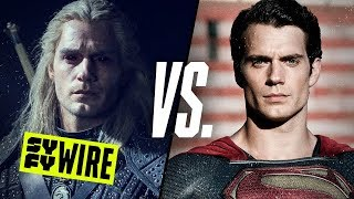 Henry Cavill Talks Geralt VS Superman. Who Would Win?   SYFY WIRE