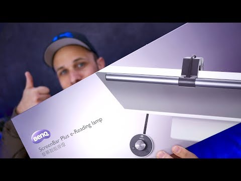BenQ ScreenBar Plus Super Review – SICK Desk Lamp
