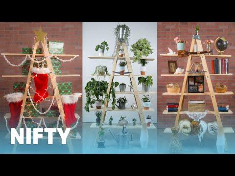 5 Creative Ways To Use A Ladder Shelf