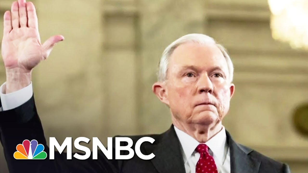 Can Jeff Sessions Explain Donald Trump Admin Removal Of US Attorneys? | Rachel Maddow | MSNBC thumbnail