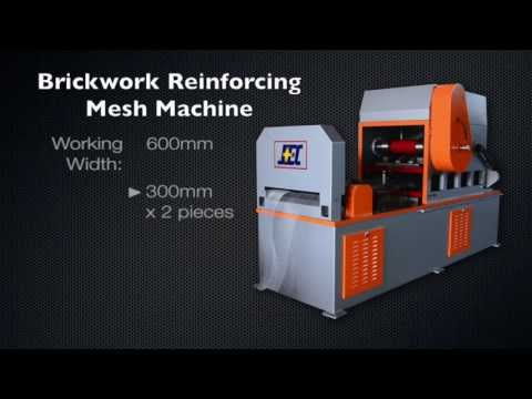 Brickwork Reinforcing Mesh Machine -