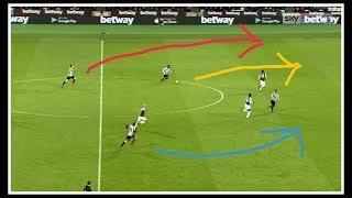 Analysing the goals   West Ham United 2-3 Newcastle United