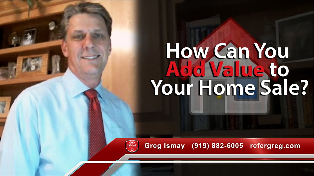 How can you add value to your home sale?
