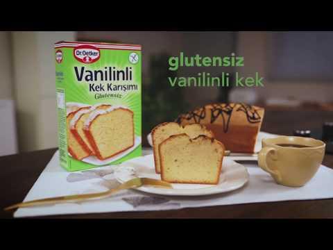 Glutensiz Vanilinli Kek Karışımı