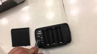 """RCA 3.5"""" Portable TV DHT235A Unboxing & Review 720p 60Hz LED-Lit"""