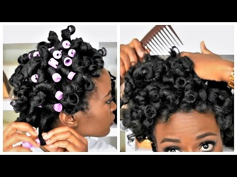 How To Curl Natural Hair Without Heat