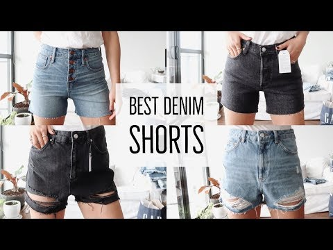 BEST JEANS || SHORTS TRY-ON + HAUL