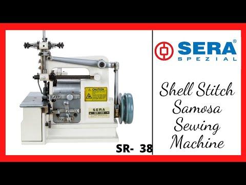 Shell Stitch Overlock Sewing Machine