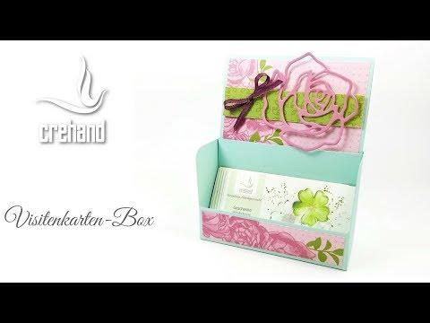 Visitenkartenbox - Kreativ mit crehand & Stampin' Up!