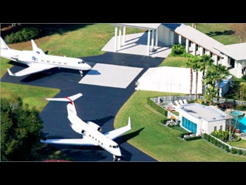 Top 10 Most Insane Celebrity Mansion Homes 2018