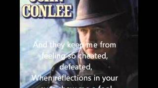 John Conlee-Rose Colored Glasses(With Lyrics)