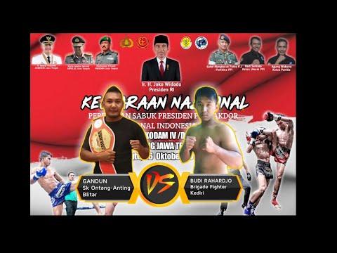 Pencak Dor Professional Indonesia / EDI BACOK BEDALI VS GANDUN ONTANG ANTING