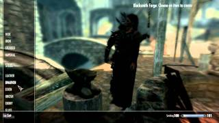 Skyrim - Mod 7 - Lord of The Rings, Flaming Dog and Dragon Armour