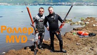 Короткий арбалет инвертор для подводной охоты Predator Zeso 55 Invert Roller полная заводская комплектация + 49 э от компании МагазинCalipso dive shop - видео