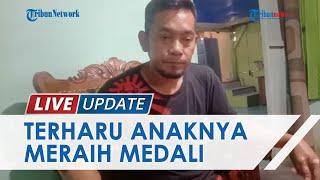 Tangis Haru Ayah Atlet Triathlon saat Putrinya Sumbang Medali Pertama PON XX Papua 2021 untuk Sultra