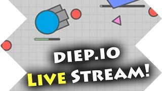 Diep.io Team Gameplay! - Live Stream