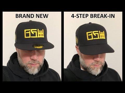 Four Steps to Break in your Baseball Cap