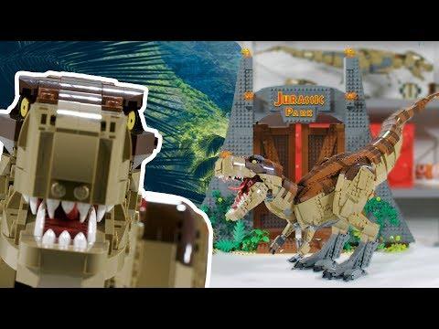 75936 LEGO® Jurassic World™ Jurassic Park: türannosauruse rünnak hind ja info | Kokkupandavad mänguasjad | kaup24.ee