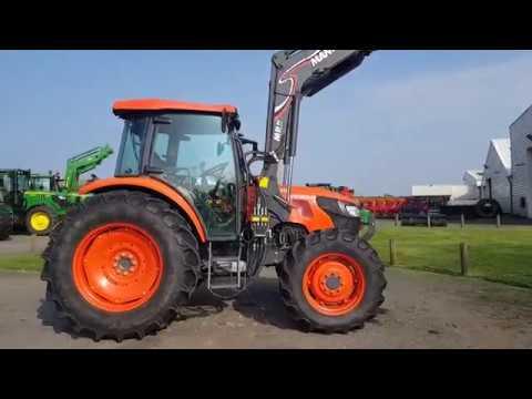 Tracteur KUBOTA M9960 N° 133506 (2014)