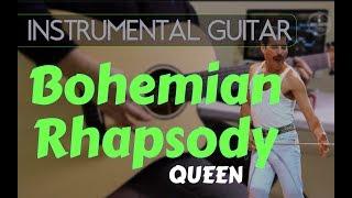 Queen   Bohemian Rhapsody Instrumental Guitar Karaoke Version Cover With Lyrics