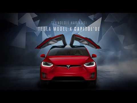 Teknoloji harikası Tesla Model X Capitol'de!