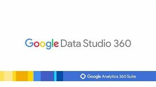 Google Data Studio video