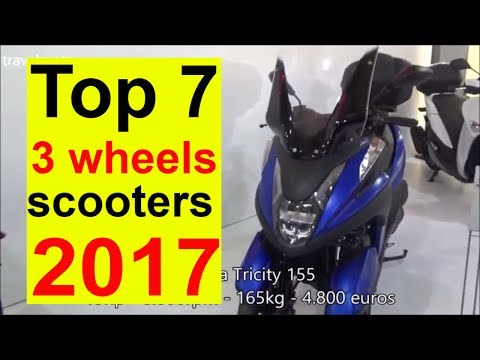 The Top 7 Motorcycles with 3 wheels for 2017