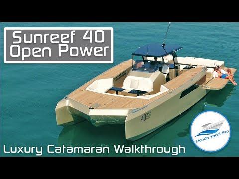 Sunreef 40 Open Sunreef Power video