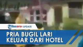 VIRAL Video Pria Bugil Keluar Hotel di Medan setelah Diperas 2 Waria, Polisi Ungkap Kronologinya