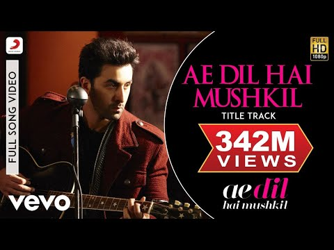 Download Ae Dil Hai Mushkil Title Track Full Video - Ranbir, Anushka, Aishwarya|Arijit|Pritam HD Mp4 3GP Video and MP3