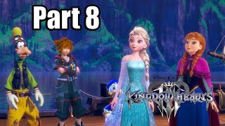 Kingdom Hearts 3 [PS4 PRO] Gameplay Walkthrough Part 8 - Arendelle (No Commentary)