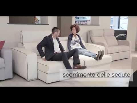 Divani relax | Divani con sedute scorrevoli | Colombo Salotti Lissone (Monza e Brianza)