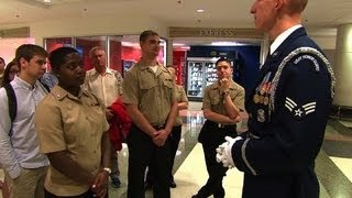 Being a Pentagon tour guide is harder than it looks