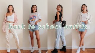 BACK TO SCHOOL CASUAL OUTFITS 💘 | COLLEGE OUTFITS