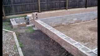 HomeBuilt DIY Concrete Block Swimming Pool