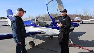 RV-12 visits Goodrich Aviation - Customer review and SB 00013 discussed.