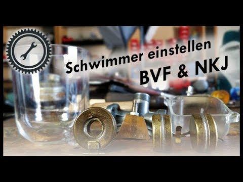Der Schwimmer - Funktionsweise und einstellen (BVF & NKJ) - Simson Turorial