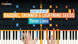 """How To Play """"Three Lions (Football's Coming Home)"""" by The Lightning Seeds 