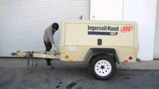 Ingersoll Rand P185 Tow Behind Compressor
