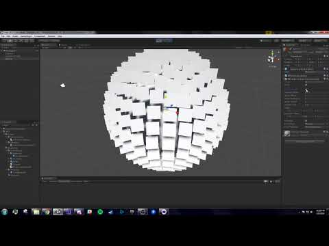 Plugin Basic Setup and Features for Dynamic Pointcloud in