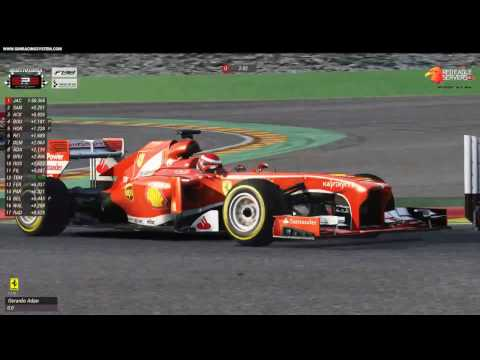 SRS Season 1 Live - Race 1 Tatuus@Spa - смотреть онлайн на