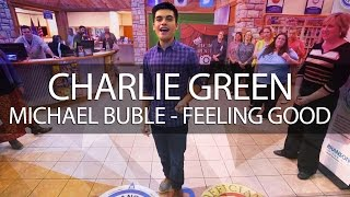 World famous Charlie Green (Michael Buble - Feeling Good) Branson, Missouri  Video