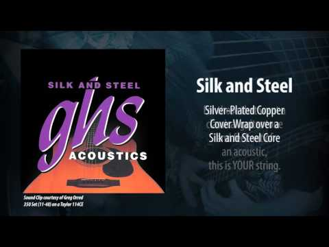 GHS Strings - Silk and Steel Acoustic Strings