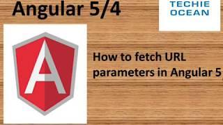 Angular 5 Fetching URL parameters