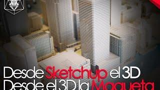 Como Hacer Una Maqueta Con El 3D De Sketchup / Flattery / Despiece