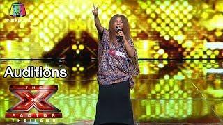 คุณจัน แม่สุดฮิปที่มีสไตล์เป็นของตัวเอง   Auditions Round   The X Factor Thailand