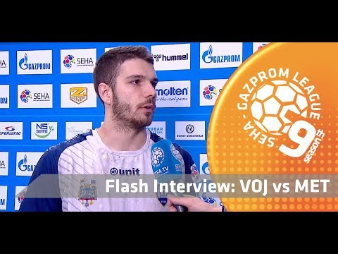 Flash interview: Vojvodina vs Metaloplastika