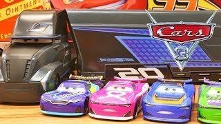 Disney Cars Next Gen Racers Take Over Jackson Storm Transforming Hauler Gale Beaufort