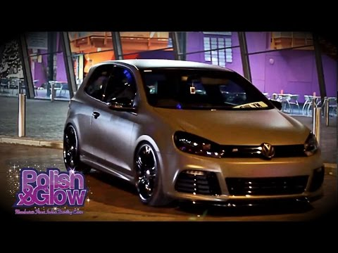 VW Golf R Transformation to Matte Military Look | P&G Customs