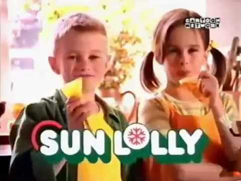 Sun Lolly UK 2000 Advert